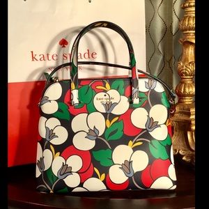 Kate Spade Maise Breezy Floral Crossbody Satchel